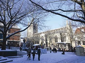 Norwich in winter